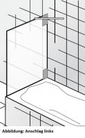 HSK K2.99 Seitenwand zu Badewannenaufsätzen K2