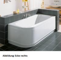 Bette Rechteck-Badewanne Form Comfort 3400, 140x70x42 cm