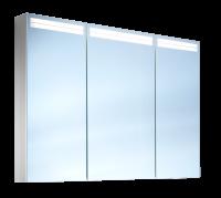 Schneider Spiegelschr. Arangaline/100/3/LED, 1x22W+1x17W LED 1000x700x120 alueloxiert, 160.101.02.50