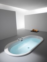 Hoesch Badewanne Foster oval 1900x980, weiß