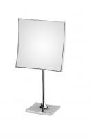 KOH-I-NOOR Quadrolo 64/1 Vergrößerungsspiegel 3-fach 20x20 cm rechtekige Platte, Tischmodell