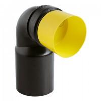 Grohe Ablaufbogen 42946 DN80/100 schwarz für Installationssysteme, 42946000