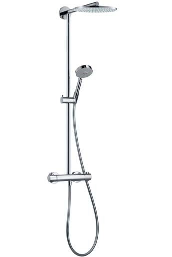 Showerpipe Raindance Eco chrom 27165000