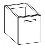 """Artiqua COLLECTION 414 Waschtischunterschrank zu""""Subway 2.0""""731545 B:400mm 1 Tür"""