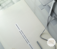 Fiora Silex Privilege Duschwanne, Breite 75 cm, Länge 100 cm, Farbe: weiss