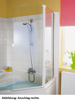 HSK Favorit Badewannenaufsatz 2-teilig