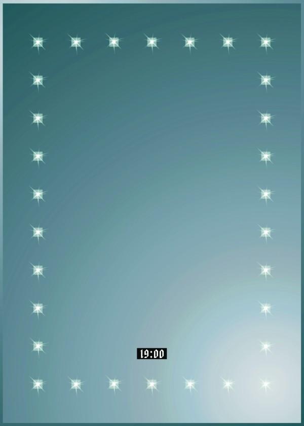 Spiegel Led-Wandspiegel Dionysos 700 410301