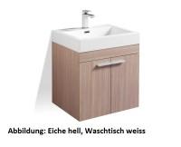 Treos Serie 900 Waschtischset 575x465x645mm mit Schrank und Waschbecken 900.058-1, Farbe: B.Wood