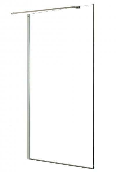 Neuesbad Design Seitenglas 80 cm breit