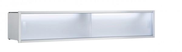 Emco asis Ablage-Modul, LED, Unterputz, 1000mm, chrom, 971227710