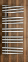 Caleido Pavone single Badheizkörper (Mischbetrieb), B: 610 mm x H: 1207 mm