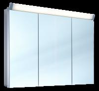 Schneider Spiegelschr. Paliline/100/3/LED, 1x22W+1x12W 1000x760x120 alueloxiert, 159.101.02.50