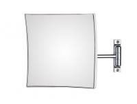 KOH-I-NOOR Quadrolo 63/1 Vergrößerungsspiegel 3-fach 20x20 cm rechtekige Platte, einfacher Arm