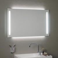 Koh-I-Noor DUO Spiegel mit Raumbeleuchtung hinter dem Spiegel und Spiegelbeleuchtung 100x3,3x80, 459