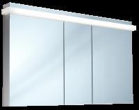 Schneider Spiegelschrank Taikaline/130/3/LED, 1x45W 1300x785x120 alueloxiert, 158.130.02.50