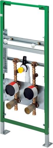Waschtisch-Element 8154 in 1130mm Stahl smaragdgrün 477462
