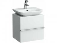 Laufen Waschtischunterbau case 450x340x425,1 Tür,Scharnier rechts,Weiß matt, 4011020754631