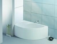 Hoesch Badewanne Spectra Eck 1700x1000 links mit