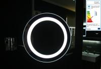 Neuesbad Schminkspiegel rund mit LED Beleuchtung und 3-fach Vergrößerung