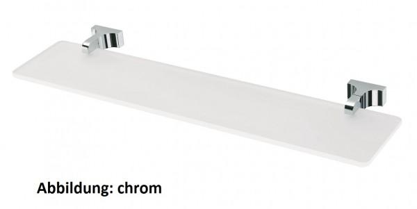 Neuesbad Glasablage 55 cm TOIX chrom-orange