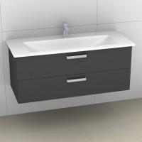 Artiqua 414 Waschtischunterschrank mit 2 Auszügen, passend zu Venticello 4104CG, B:115, T:48,1, H:49