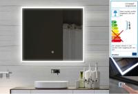 Neuesbad LED Lichtspiegel mit Touch Schalter, B:800, H:600 mm