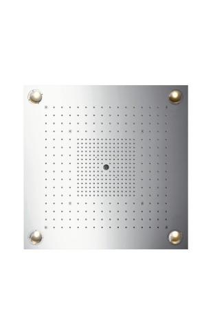 Hansgrohe Kopfbrause Axor Starck ShowerHeaven 720x720mm edelstahl mit Licht, 10627800