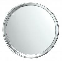 Koh-I-Noor Einseitiger Spiegel X3 mit 3 Saugnäpfen 23x5x23, Chrom, 5511KK-3