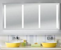 Sanipa Lichtspiegel variabel m. Lichtsteuerung, (Reflection) LS8009Z 765x600-2000x40mm, LS8009Z
