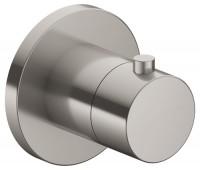 Keuco Thermostatarmatur IXMO 59553, eckig, Edelstahl-finish, 59553070002