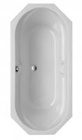 Acryl Badewanne Sicilia 8-eckig 1700x750 mm, weiß