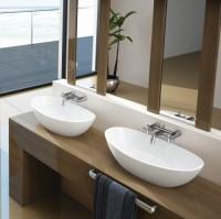 Hoesch Waschbecken Namur 500x300 Material Solique, weiß, 4410.010