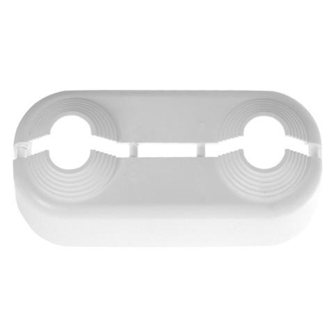 Kermi Badheizkörper Doppelrosette Kunststoff, 50 mm Abstand, ZT00660001