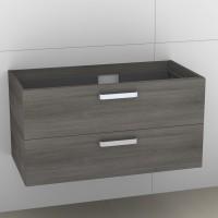 Artiqua 414 Waschtischunterschrank mit 2 Auszügen, passend zu Venticello 4134R2, B:95, T:48,1, H:49c