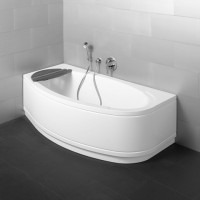 Bette Rechteck-Badewanne Home Comfort 8999, 180x75x45 cm Ecke rechts weiß, 8999-000CELV