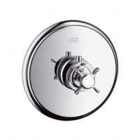 Hansgrohe Thermostat Unterputz Axor Montreux Fertigset brushed nickel, 16810820