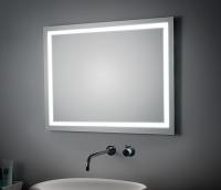 KOH-I-NOOR T5 Spiegel mit perimetraler Beleuchtung 45921, B: 100 cm, H: 90 cm