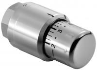 Kermi Thermostatkopf Edelstahl-Optik