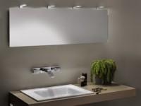 Zierath LED-Kristallspiegel PINTO Kristallspiegel, BxH: 400x400, ZPINT0301040040