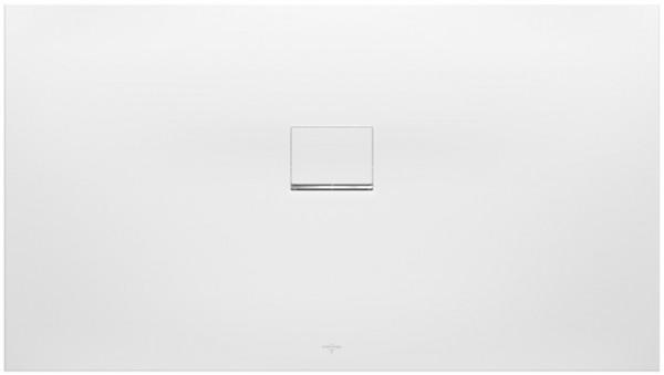 Villeroy & Boch Squaro Infinity (1510SQI2I) 1500x1000x40mm Quaryl Stone White, UDQ1510SQI2IVRW