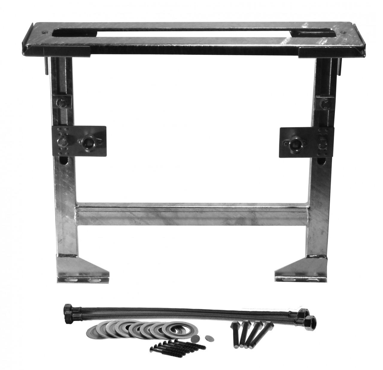 Image of Neuesbad Montageplatte mit Gestell für 3/4/5-Loch Armaturen 51901050