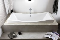 Hoesch Badewanne Foster 1900x900, weiß