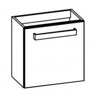"""Artiqua COLLECTION 413 Waschtischunterschrank zu""""iCon XS""""124053 B:480mm 1 Tür"""