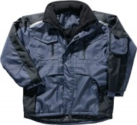 NORDWEST Handel AG Jacke Gr. XL marine/schwarz 100% PES 1 St. PROMAT,