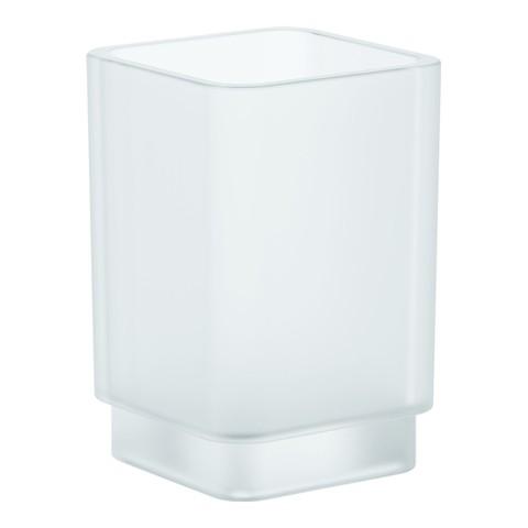Grohe Kristallglas Selection Cube 40783 für Halter davinci satin weiss, 40783000