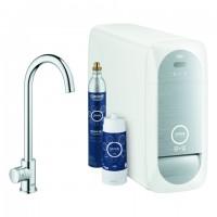 Grohe Blue Home Mono Starter Kit 31498 Bluetooth/WIFI C-Auslauf chrom, 31498001