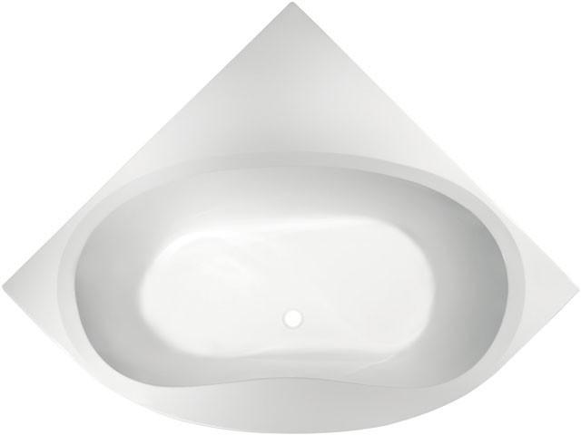 Eck-Badewanne Aqua 1400mm weiss K621701