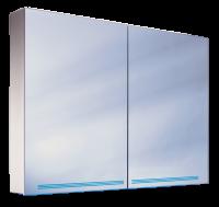 Schneider Spiegelschrank Graceline 120/2/FL/LED, 1x54W+1x28W 1200x700x120 alueloxiert, 116.320.02.50