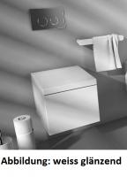 ArtCeram Block Wand-Tiefspül-WC, B: 360, T: 490 mm, schwarz glänzend
