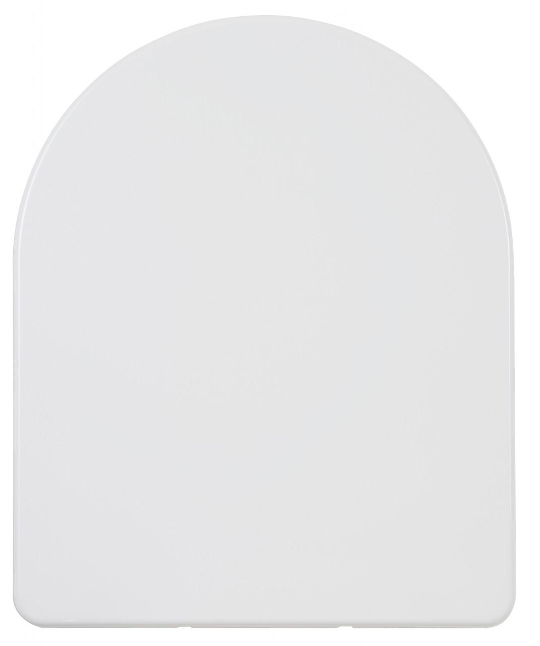 WC-Sitz weiss, Duroplast, Deckel übergreifend, mit Absenkautomatik 401319